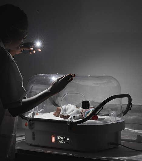 Battery Powered Newborn Incubators
