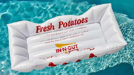 Fast Food Pool Floats