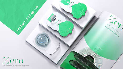 Touch-Free Contact Lens Packaging
