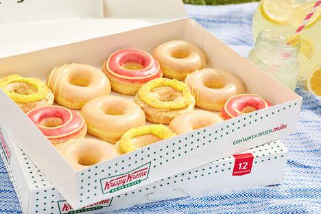 Glazed Lemonade Donuts