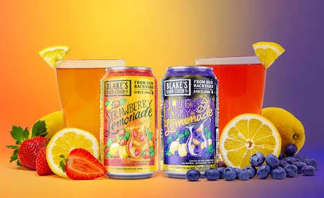 Hard Cider Lemonades