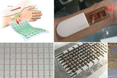 Stretchable Health-Monitoring Wearables