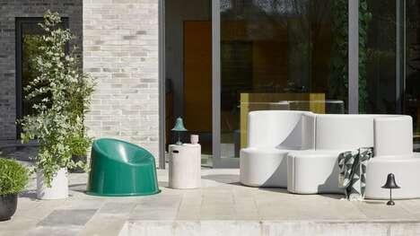 Curved Modular Sofa Systems