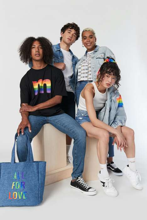 Pride-Themed Clothing Capsules