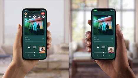 Co-Watching Smartphone Features