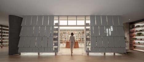 Chinese Garden-Inspired Bookstores