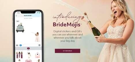 Digital Wedding Stickers
