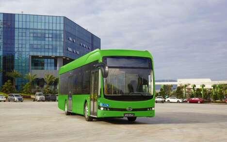 Electric European Buses