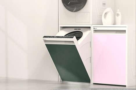 Space-Saving Washing Machines