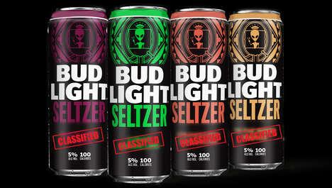 Exclusive Alien-Themed Seltzers