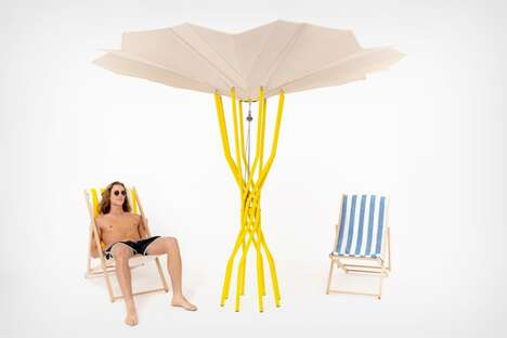 Energy-Capturing Beach Umbrellas