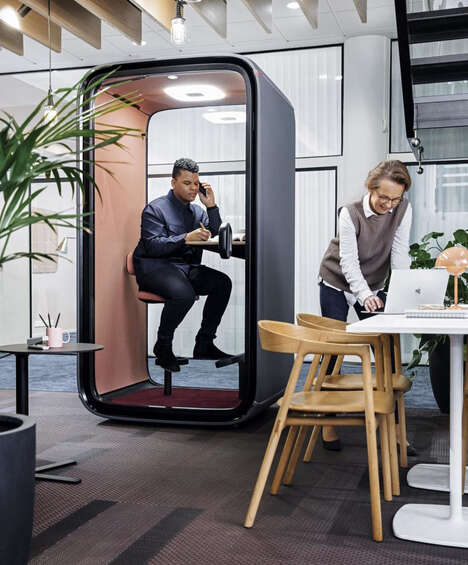 Videoconferencing Office Booths