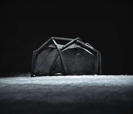 Demure All-Black Camper Tents