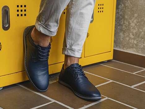 Sneaker-Like Comfort Dress Shoes
