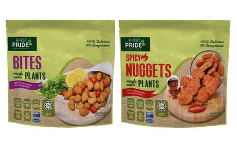 Frozen Plant-Based Food Products