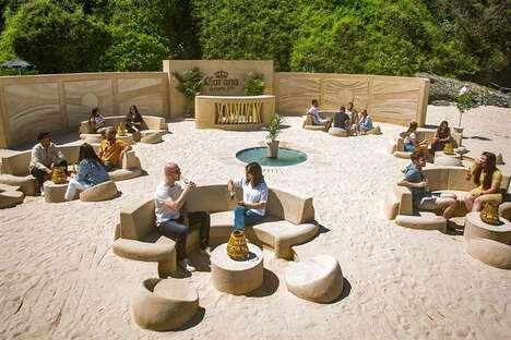 Sustainable Beach Bar Pop-Ups