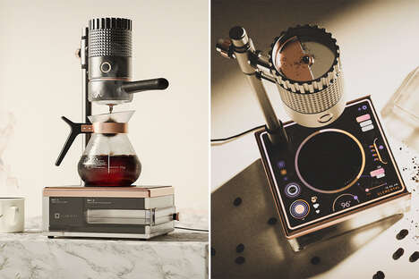 Sci-Fi-Inspired Coffee Makers