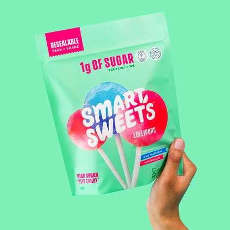 Low-Sugar Lollipops