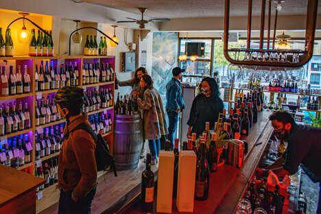 Converted Natural Wine Shops