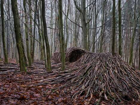 Pandemic-Inspired Woodland Sculptures