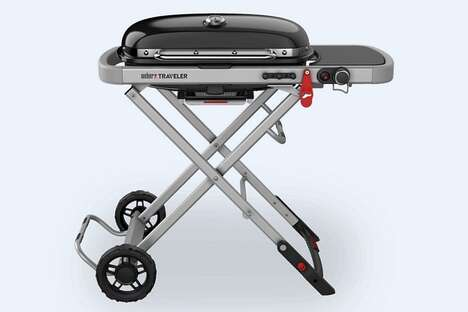 Collapsible Camping Cooking Grills
