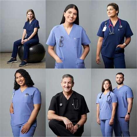 Functional Fashionable Medical Scrubs
