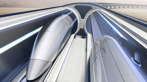 Futuristic High-Speed Transport Systems