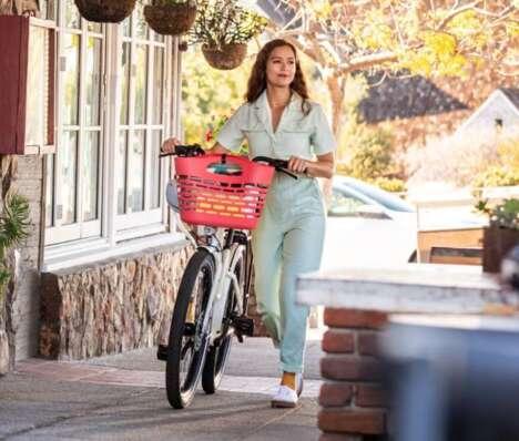 Ocean Plastic Bike Baskets