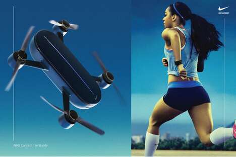 Aerial Workout-Tracking Drones