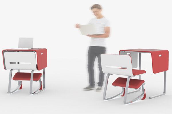 Modular Posture Support Workstations