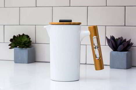 Hourglass-Paired Coffee Makers