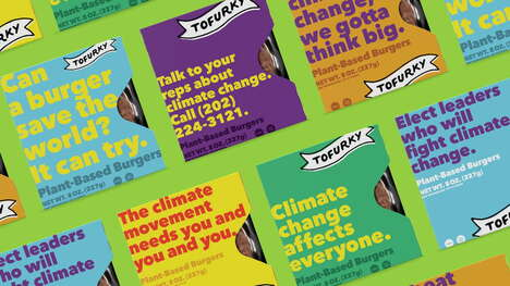 Climate-Conscious Meatless Packaging