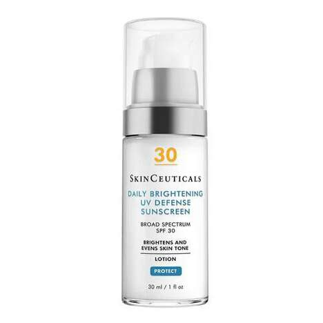 Dual-Action Brightening Sunscreens