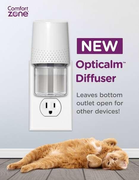 Cat-Calming Wall Diffusers