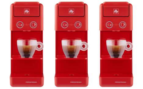 Compact Cafe-Quality Coffee Machines