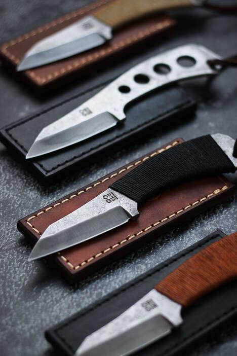 Unconventional Pocket Knives