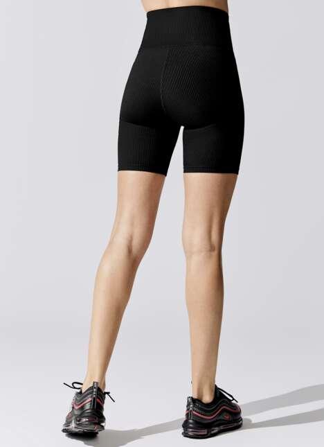 Chic V-Waist Bike Shorts