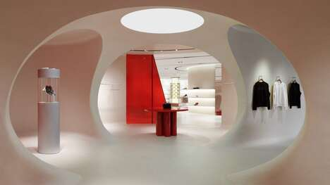 Racetrack-Inspired Lifestyle Concept Stores