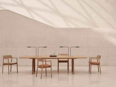 Carbon-Negative Solid Wood Chairs