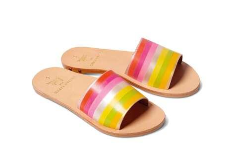 Artist-Designed Leather Sandals
