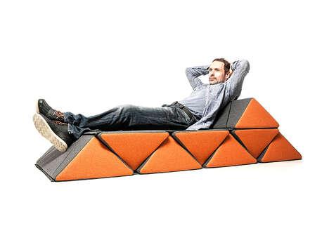 Modular Interconnecting Cushion Seats