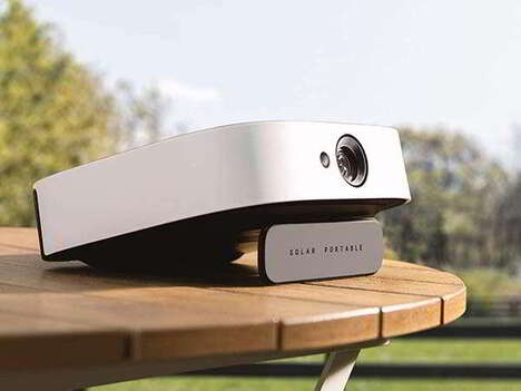 Precisely Powered Portable Projectors
