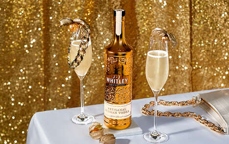 Gold-Filtered Artisanal Vodkas