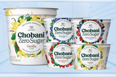 Zero-Sugar Lactose-Free Yogurts