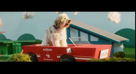 On-Demand Pet Product Deliveries