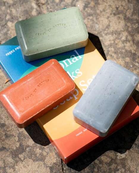Park-Themed Soap Sets
