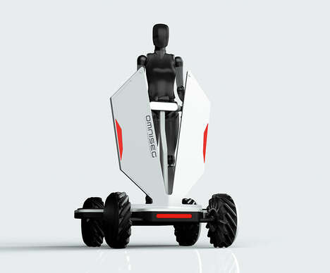 Omni-Directional Transportation Scooters