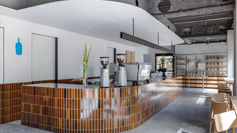 Volcanic Ash-Built Coffee Shops