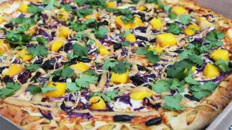 Spicy Insect Pizzas