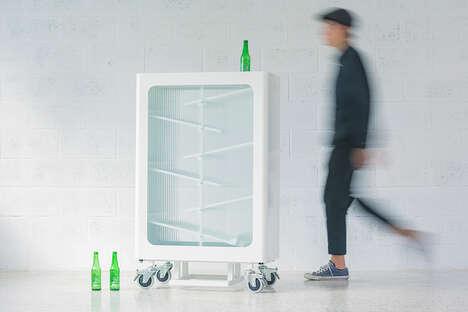 Eye-Catching Interactive Recycling Bins